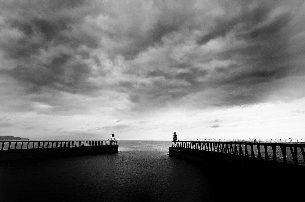 Whitby Harbour by Rory Garforth