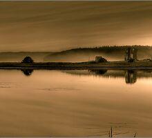 Wine Harbor Sunset by Trevor Murphy