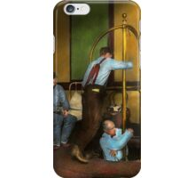 Fireman - The firebell rings 1922 iPhone Case/Skin