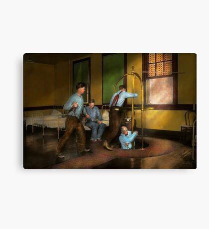 Fireman - The firebell rings 1922 Canvas Print