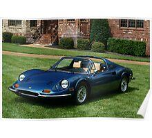 Ferrari Dino GT - All Original -  Poster