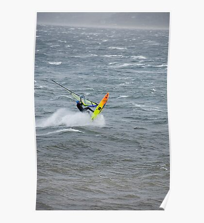 Gale Surfer Poster