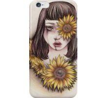 Black suns iPhone Case/Skin