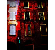 arcade facade Photographic Print