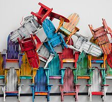 Adirondeck Chairs Pile by phil decocco