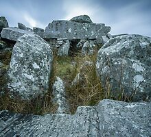 Cloughanmore Court Tomb, Glencomcille by Marie Carr