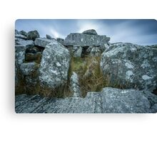 Cloughanmore Court Tomb, Glencomcille Canvas Print