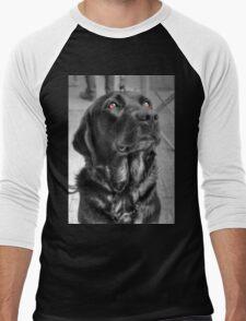 Some Angels Have Fur Men's Baseball ¾ T-Shirt