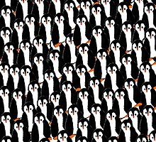 Piles of Penguins by Shellibean1162