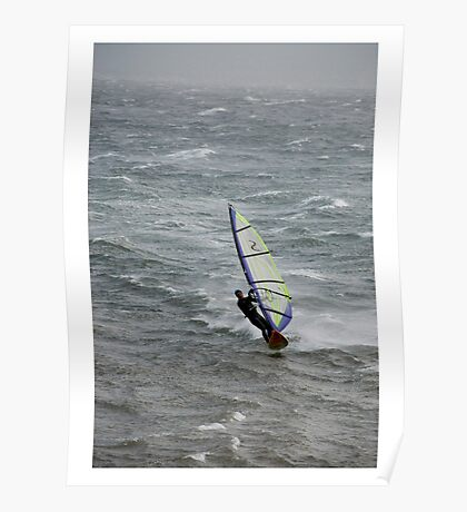 Gale Surfing Poster