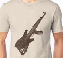 AK 47 Guitar Unisex T-Shirt