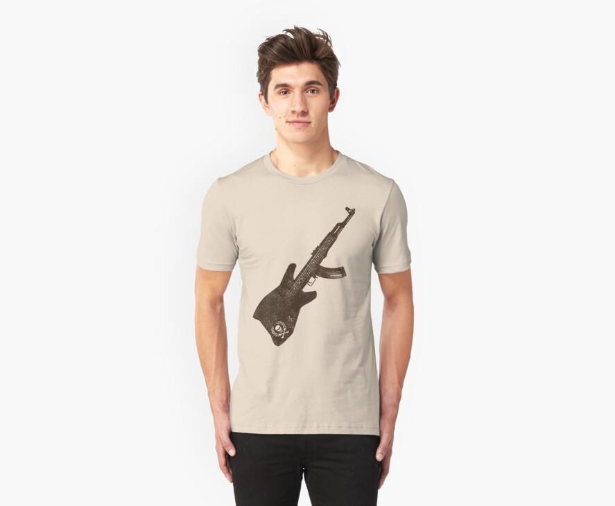 AK 47 Guitar by SymbolGrafix