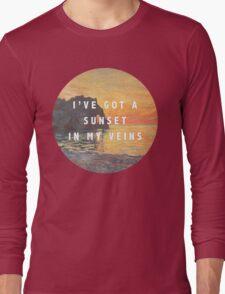 sunset in my veins Long Sleeve T-Shirt