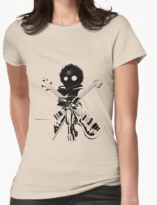 Flcl black Womens Fitted T-Shirt