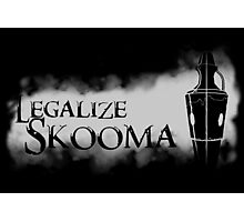 Legalize Skooma [The Elder Scrolls] Photographic Print