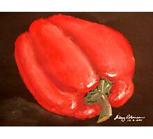Red pepper Photographic Print