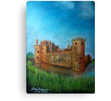 Caerlaverock Castle, Scotland Canvas Print