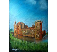 Caerlaverock Castle, Scotland Photographic Print
