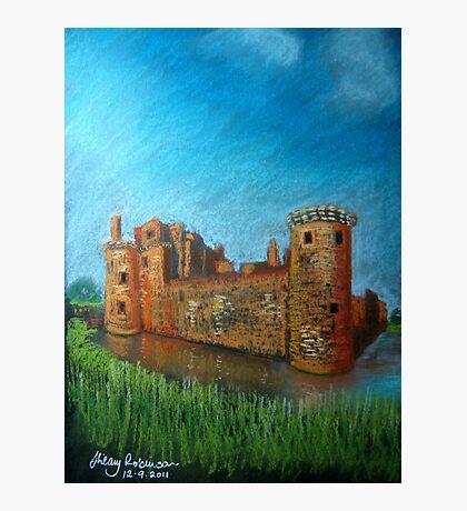 Caerlaverock Castle, Scotland Photographic Print