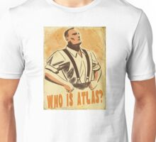 BioShock – Who is Atlas? Unisex T-Shirt