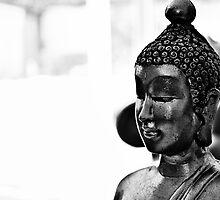 Enlightened Buddah by JDogra