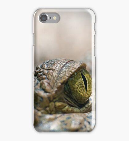 Crocodile's Eye iPhone Case/Skin