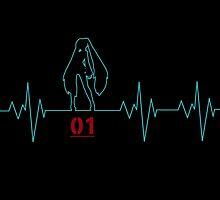 Heartbeat Hatsune Miku by K-Star-1337