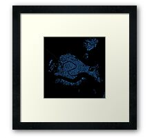 The Blue Side of Venice Framed Print