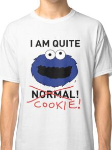 COOKIE MONSTER (BLACK TEXT) Classic T-Shirt