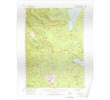 USGS Topo Map Oregon Waldo Lake 283000 1956 62500 Poster