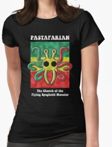 Pastafarian -- The Church of the Flying Spaghetti Monster Womens Fitted T-Shirt
