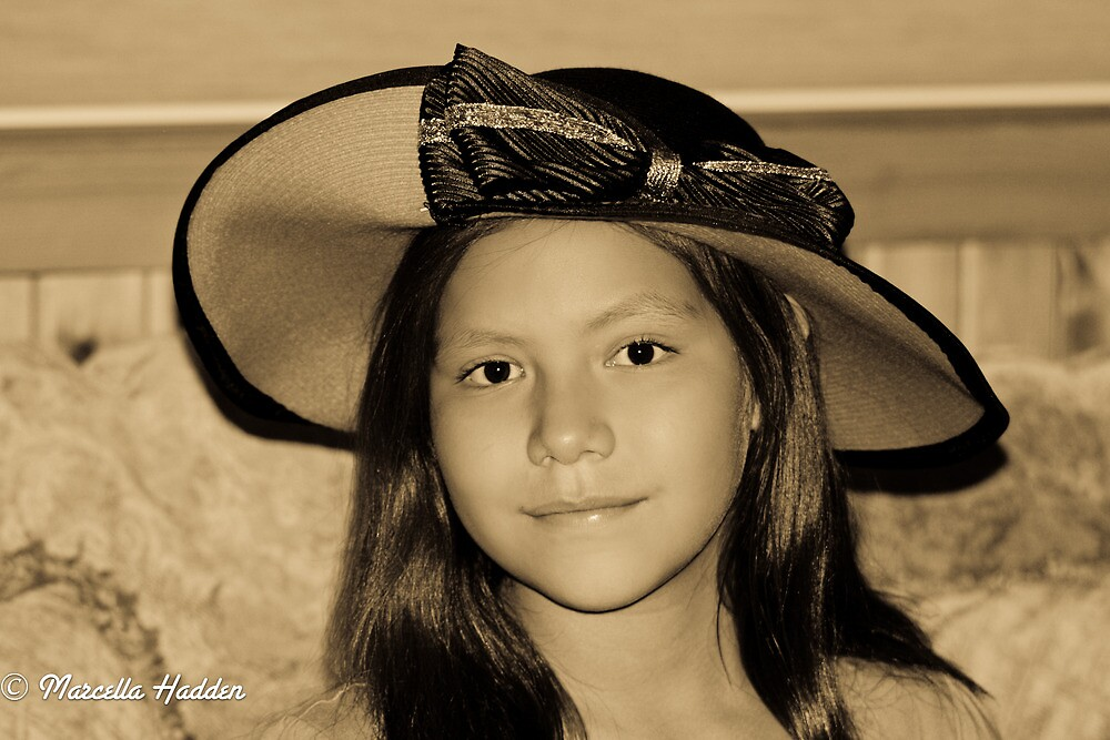 Tina Bina & Her New Hat by Marcella Hadden