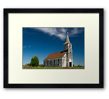 Abandoned County Church Framed Print