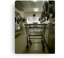 in the washing saloon Canvas Print