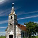 Abandoned Church Standing Tall by Mark Van Scyoc