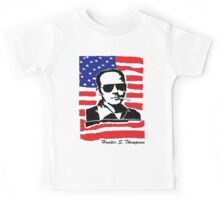 Hunter S Thompson. Drugs, alcohol, violence and insanity Kids Tee