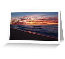 Wamberal Sunrise Greeting Card