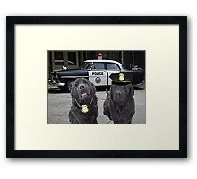 "☞ º°""˜`""°☜♥☞CANINE POLICE DOGS- BAD BOYS THEME TAKEN FROM THEME SONG ☞ º°""˜`""°☜♥☞ Framed Print"