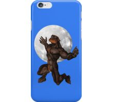 Howl at the Moon  .. tee shirt iPhone Case/Skin