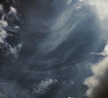 Clouds Over Irwin Prairie State Nature Preserve by Mitch Labuda