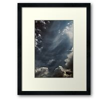 Clouds Over Irwin Prairie State Nature Preserve Framed Print