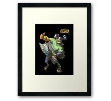 League of Legends - Olaf Brolaf Framed Print
