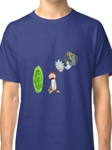 Rick and Morty Portal  Classic T-Shirt
