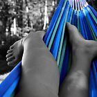 A Lazy Day - Backyard Hammock by Caites