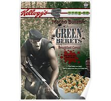 Commando Breakfast Cereal Poster