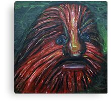 Lion Faced Man  Canvas Print