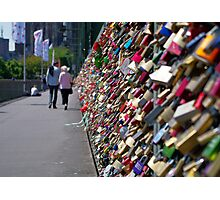 Lock It & Throw Away The Key - Cologne Photographic Print