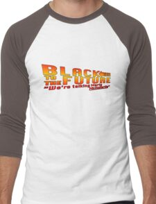 Black to the future Men's Baseball ¾ T-Shirt