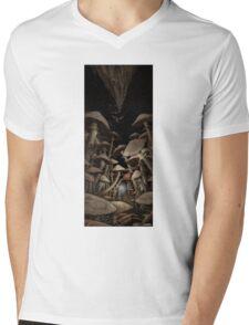 Fungus Forest Mens V-Neck T-Shirt