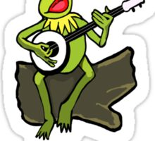 The Most Interesting Frog in the World Sticker